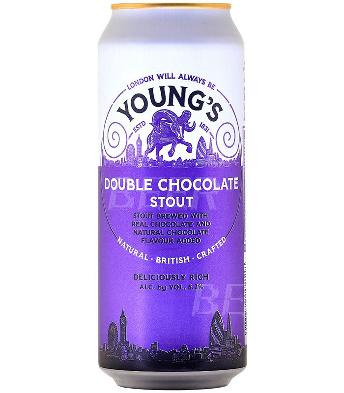Янгс Дабл Чоколэт Стаут/Young-s Double Chocolate Stout 0,44л.*24